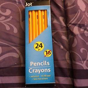I'm sailing pencils